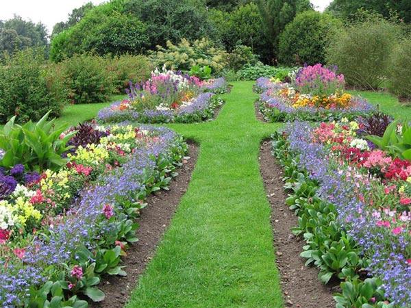 Дорожки на садовом участке из гравия своими руками 65
